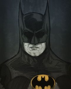 Batman drawing by Jamie Ridge