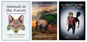 Unique novels with environmental themes by Kathryn Rose Newey