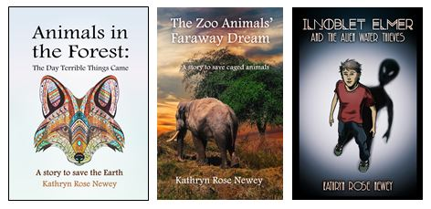 Unique Books with Environmental Messages by Kathryn Rose Newey