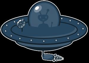 UFO flying saucer