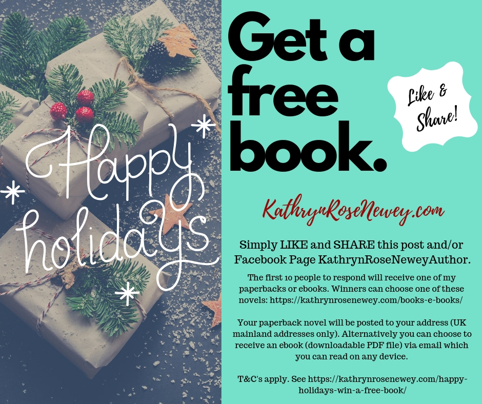 Happy Holidays Get A Free Book Kathryn Rose Newey Author