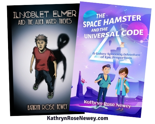 Middle Grade Science Fiction Novels by Kathryn Rose Newey
